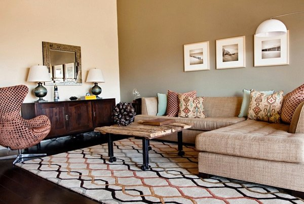 Earthy Living Room Colors 20 stunning earth toned living room designs | home design lover