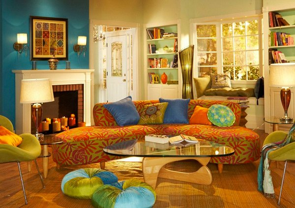 The Furniture And Decor This Room Can Definitely Be Called Boho Chic