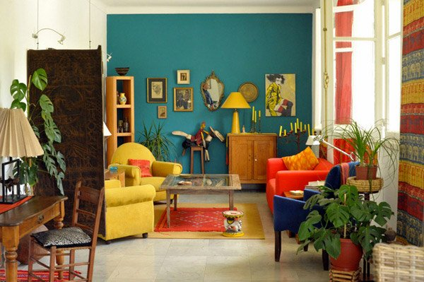 15 awesome retro inspired living rooms home design lover for Living room ideas vintage