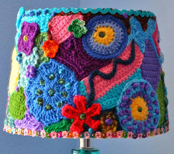 Lamp Shade Crochet