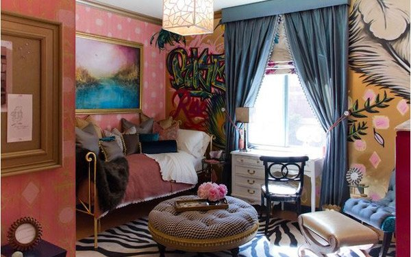 psychedelic room ideas this bedroom design is nothing