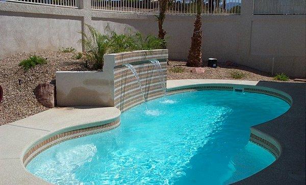 figure 8 shaped pools