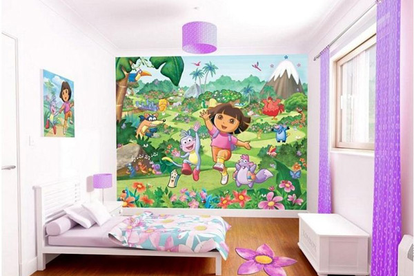 Dora The Explorer Bedroom
