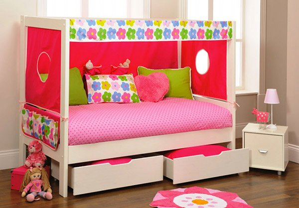 Stompa Play 1 White Day Bed & Den Kit