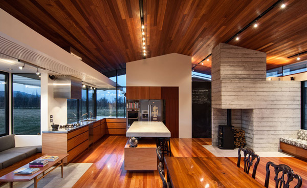 Wairau Valley House Dining Room