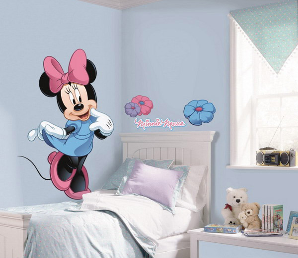 Minnie Mouse for Girls Room