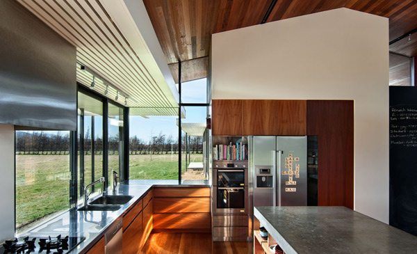 Wairau Valley House Kitchen