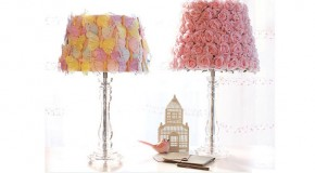 15 Girly DIY Lamp Shade Designs