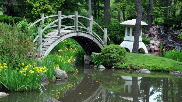 15 japanese inspired garden bridges home design lover