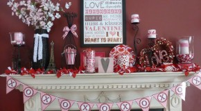 15 Ways to Decorate Your Mantles This Valentine's Day