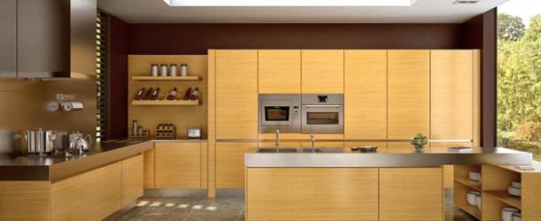 17 Wooden Matte Finished Kitchen Designs