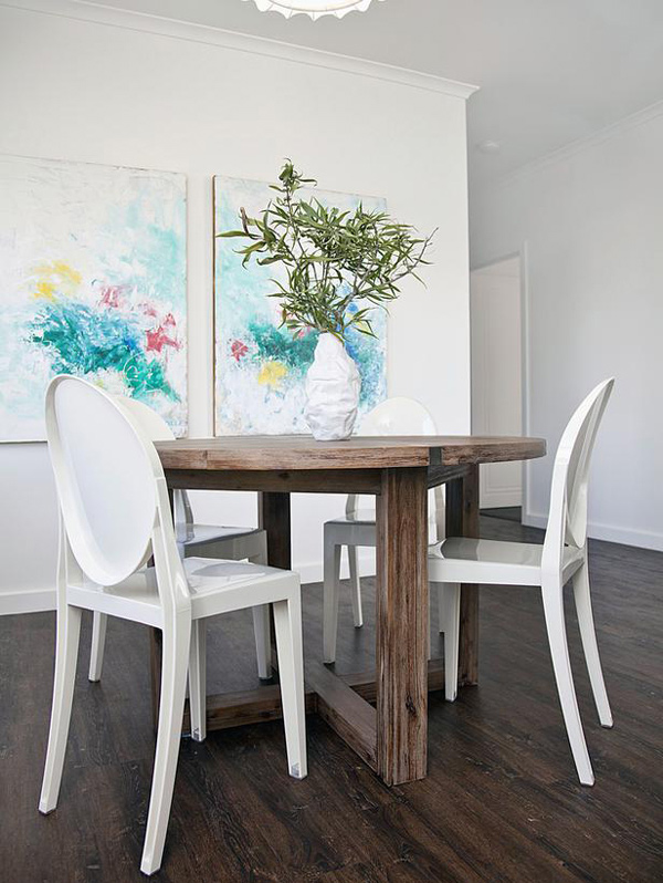 15 appealing small dining room ideas home design lover - Dining room table small space collection ...