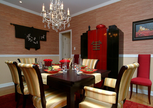 Asian Inspired Dining Room list deluxe 15 dining room paint ideas to your houses - list deluxe