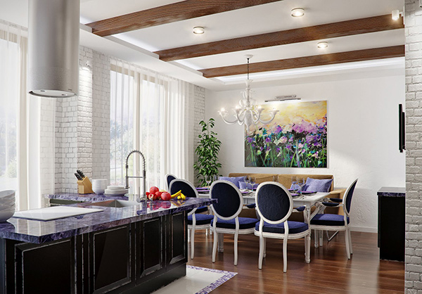 Formal Dining Room Color Schemes 15 admirable dining room color schemes | home design lover