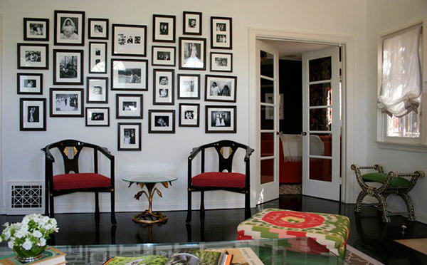 Wall Decor Frames 15 living room wall decor for added interior beauty | home design