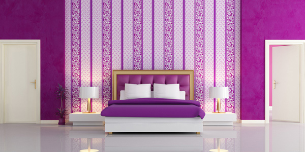 Tips in decorating small bedrooms home design lover for Best wallpaper design for bedroom