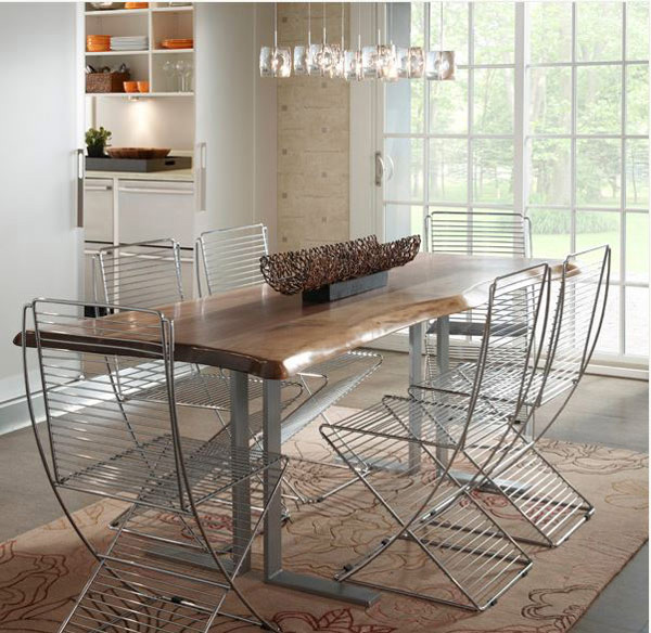 Modern Rustic Dining Room Chairs 15 rustic dining room designs | home design lover