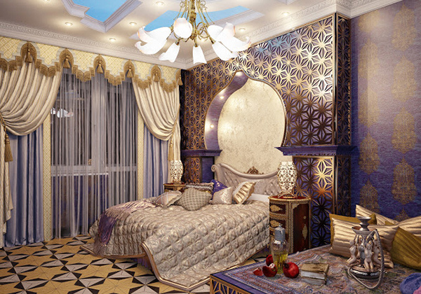 15 decorating bedroom ideas and tips home design lover for Bedroom designs royal