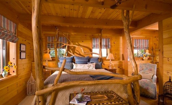 15 rustic bedroom designs home design lover for Rustic bedroom designs