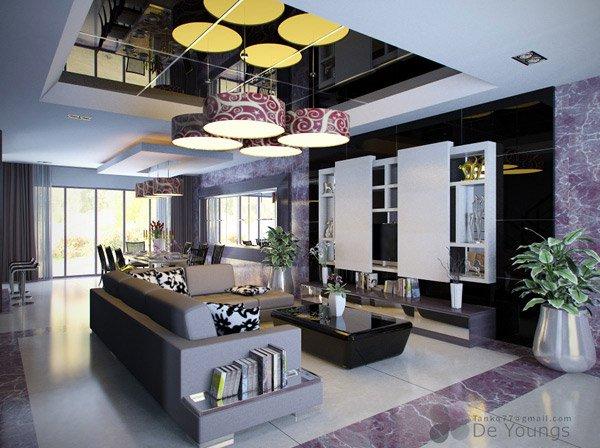 16 Contemporary Living Room Ideas Home Design Lover