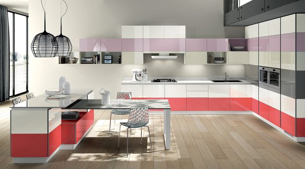 20 modern kitchen color schemes | home design lover