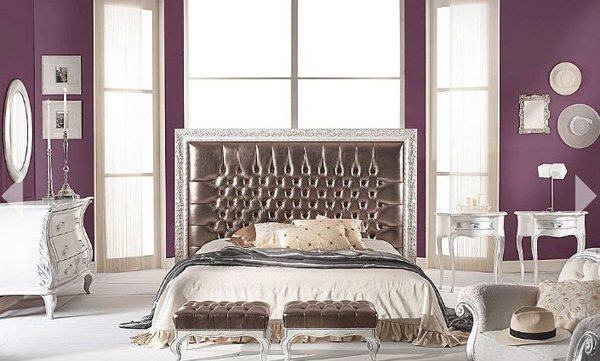 Classic Purple Bedroom Set