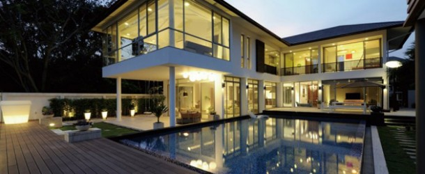 The Sustainable Baan Citta House In Bangkok, Thailand