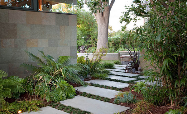 Backyard Pathways Designs Backyard Landscape Design