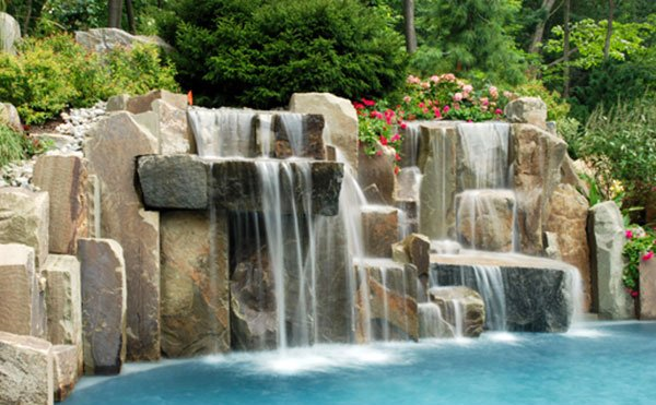 Pool Waterfalls 5