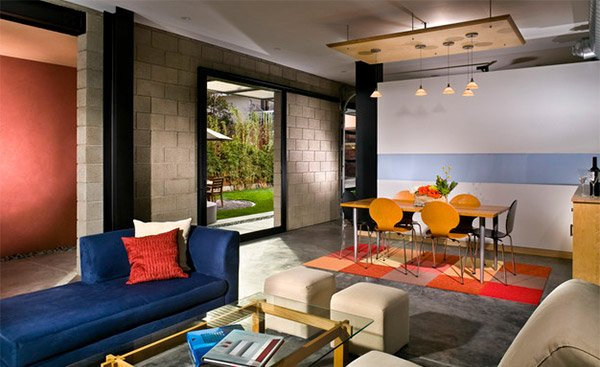Living Room / Dining Room Beyond