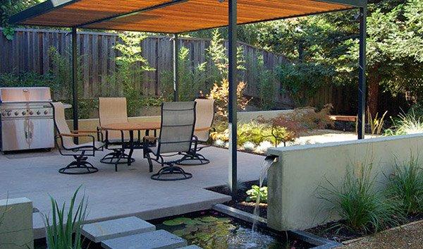 outdoor water gardens