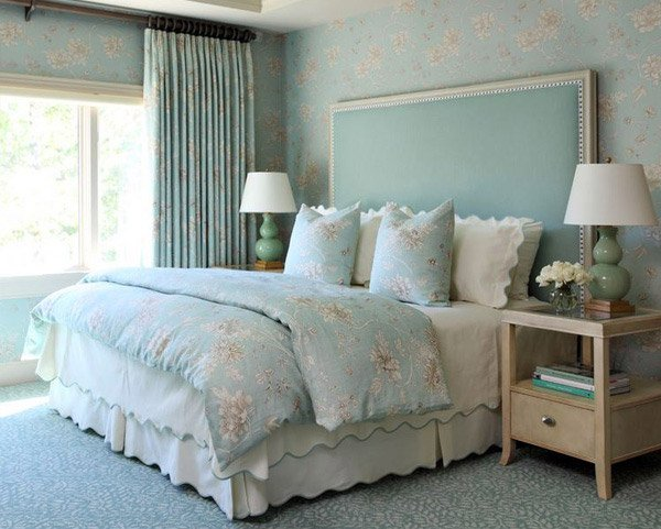 Soft Blues. 20 Master Bedroom Colors   Home Design Lover