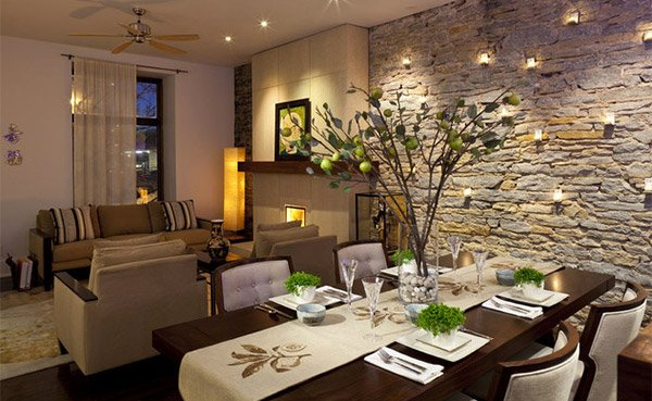 Dining Room Design 2013 20 dining rooms with brick walls | home design lover