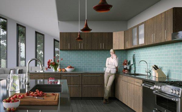 Kitchen Tiles Highlighters 15 unique kitchen tile designs   home design lover