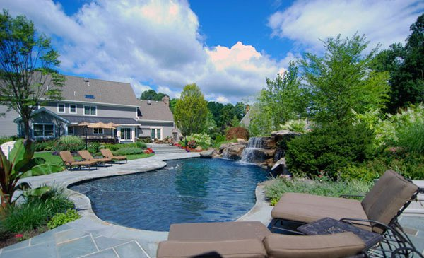 Pool Designs And Landscaping 15 pool landscape design ideas | home design lover