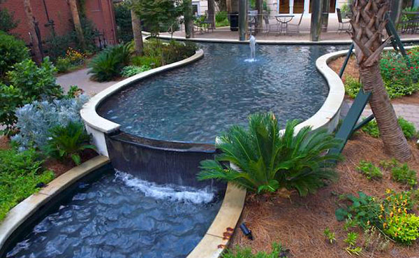 Swimming Pool Fountain Ideas entertaining swim up bar Fountain Features