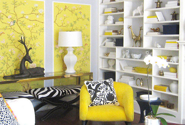 Grey White And Yellow Living Room home design: 15 fab living room designs with yellow accent