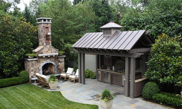 15 patio gardens for outdoor recreation home design lover for Home garden kitchen design