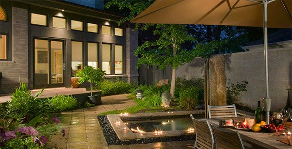 Modern Backyard Garden Ideas : 15 Patio Gardens for Outdoor Recreation  Home Design Lover