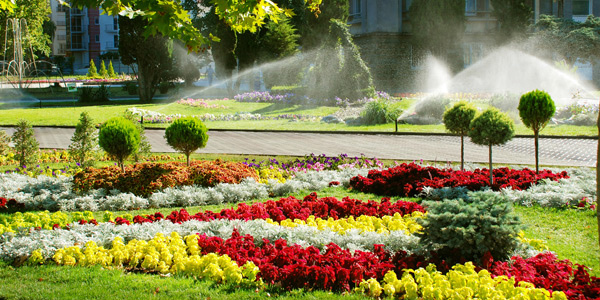 Work on your lawn's irrigation