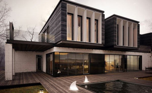 Striking Collection Of 15 Houses With Terrace Home