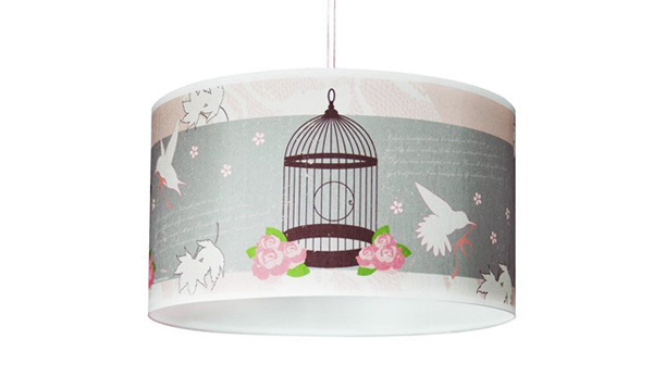 Ceiling Drum Pendant Light Shade