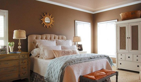 20 master bedroom colors home design lover for Chocolate brown bedroom designs