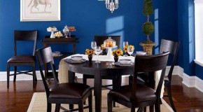 15 Wonderfully Planned Blue Dining Room Designs
