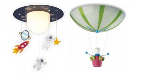 15 Imaginative Ceiling Light Designs for Boy's Bedroom
