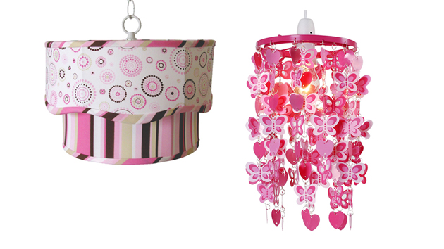 15 Arty Ceiling Light Designs for Girl's Bedroom | Home Design Lover