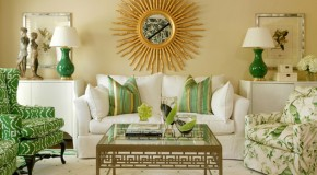 20 Refreshing Green-Themed Living Rooms