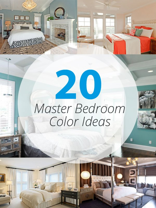 Master Bedroom Colour Ideas 20 master bedroom colors | home design lover