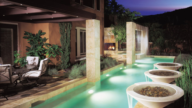 15 Pool Waterfalls Ideas For Your Outdoor Space Home