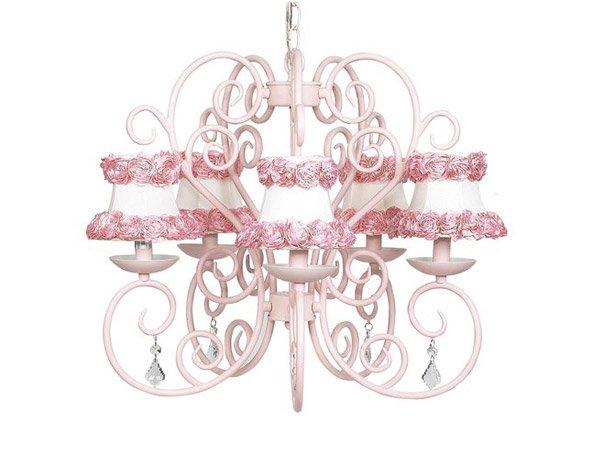 Pink Chandeliers design